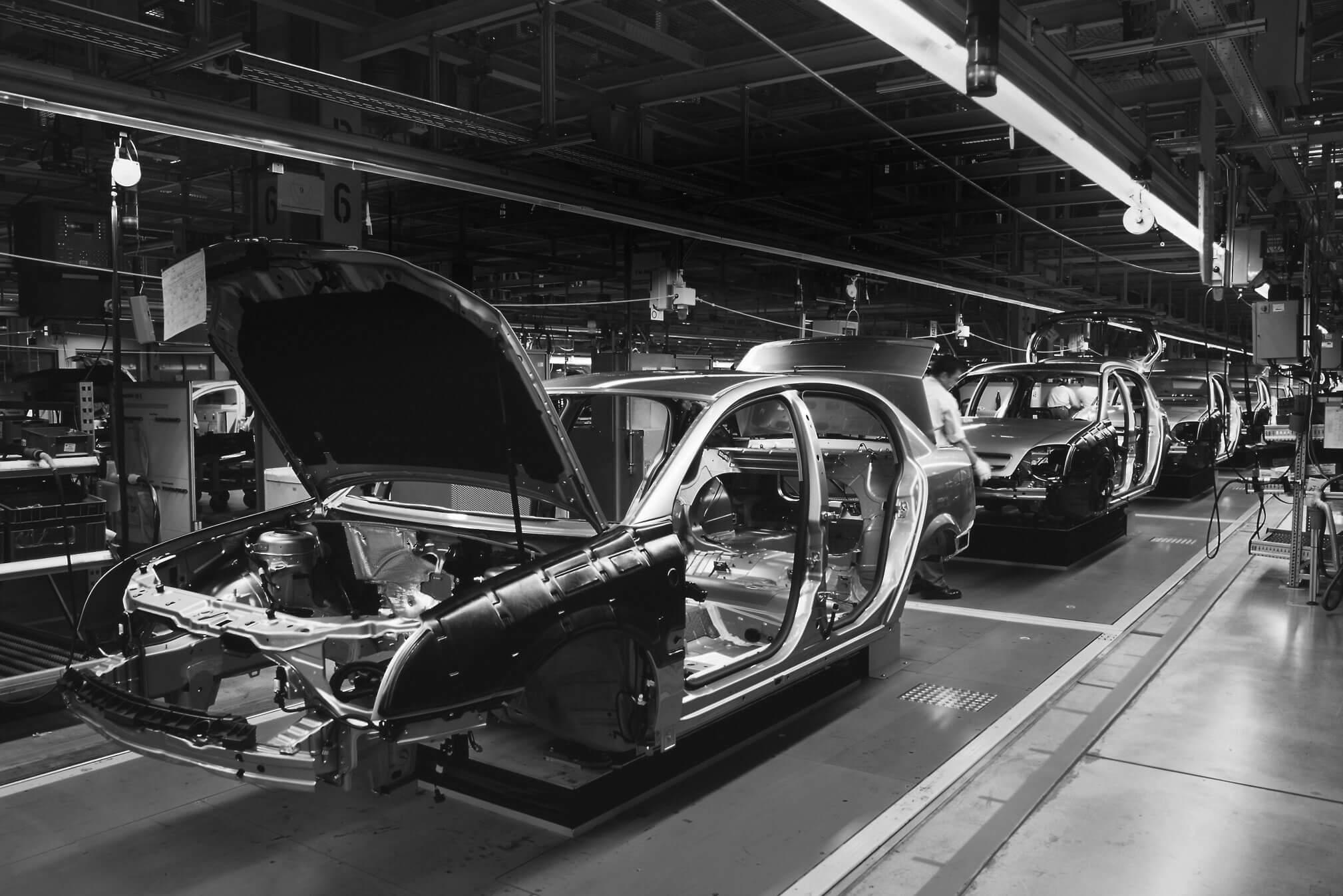 Autoindustrie unterkunft